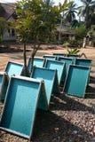 солнце handmade бумаги засыхания Стоковые Изображения RF