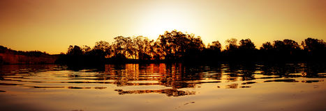 солнце murray Стоковое фото RF