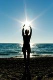 солнце preyer Стоковое Изображение