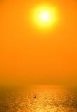 солнце sailing Стоковое Изображение RF