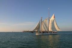 солнце sailing Стоковое Изображение