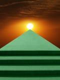 солнце stairway к Стоковое Изображение
