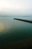 солнце taiwan луны озера Стоковые Фото