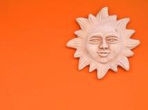 солнце tuscan вниз Стоковые Фото