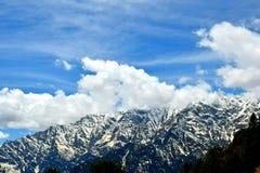 Солнц-расцелованные ледистые горы Стоковые Фото