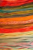 Солодка других цветов в вытянутых прокладках стоковое фото