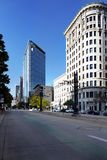 Солт-Лейк-Сити городской, Юта, США Стоковое Изображение
