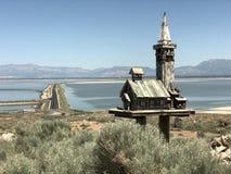 соль большого озера стоковое изображение rf