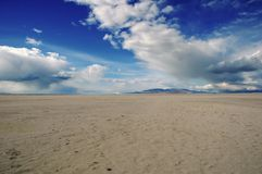 соль большого озера Стоковые Изображения RF