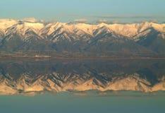 соль большого озера Стоковые Фотографии RF