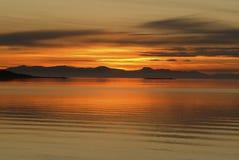 соль большого озера Стоковое фото RF