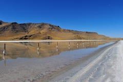 соль озера города Стоковое Изображение RF