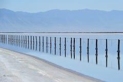 соль озера города Стоковая Фотография RF