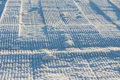 соль озера Стоковое Изображение
