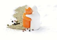 соль перца Стоковая Фотография