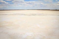 соль России озера baskunchak стоковая фотография