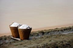 соль Таиланд корзины Стоковая Фотография RF