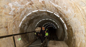соль шахты входа к turda Стоковое фото RF