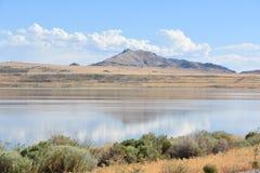 соль Юта большого озера Стоковое Фото