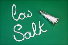 соль диетпитания низкое Стоковая Фотография