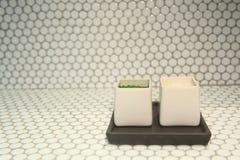 Соль для принятия ванны Стоковые Фотографии RF