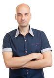 Сомнительный молодой человек Стоковая Фотография