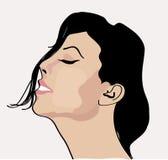 Сонная девушка бесплатная иллюстрация