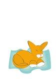 Сонный кот Стоковые Фотографии RF