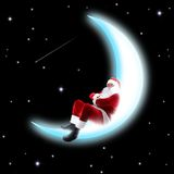 сон луны Стоковое фото RF