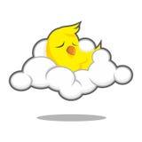 Сон птицы Стоковая Фотография