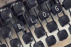 Сообщение блога Стоковое Изображение