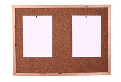сообщение доски деревянное Стоковое Изображение RF