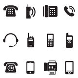 Сообщение, звонок, год сбора винограда телефона, ретро вектор Illus телефона иллюстрация вектора