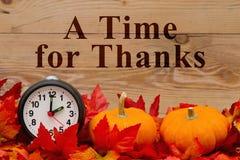 Сообщение праздника благодарения стоковые фотографии rf