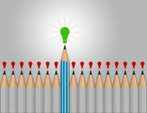 Сообщение руководства, концепция дела 3d Стоковые Изображения