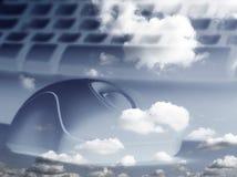 сообщения небесные Стоковая Фотография RF