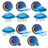 сообщите погоду Стоковая Фотография