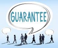 Соответствие гарантии гарантии помогает концепции клиента стоковые изображения rf