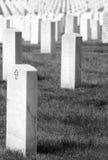 соотечественник кладбища arlington Стоковое Изображение