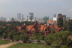 соотечественник музея Камбоджи Стоковое Изображение RF