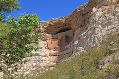 соотечественник памятника montezuma замока Стоковое Изображение