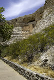 соотечественник памятника montezuma замока Стоковая Фотография RF