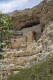 соотечественник памятника montezuma замока Стоковое Фото