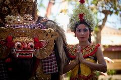 соотечественник танцульки barong balinese классицистический Стоковые Фото