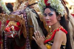 соотечественник танцульки barong balinese Стоковые Фотографии RF