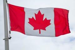 соотечественник флага Канады Стоковое Изображение