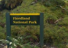 Соотечественник Fiordland стоковая фотография