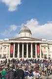 соотечественник london штольни фасада Стоковые Фотографии RF