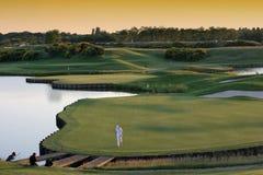 соотечественник paris отверстия гольфа 18 Стоковое Изображение