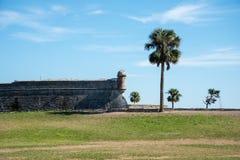 соотечественник san памятника castillo de marcos стоковые фото